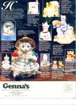Click here to enlarge image and see more about item Z1664: Genna's - Michigans largest gallery ads