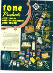 Firestone products for home, work and farm ad