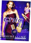 Click here to enlarge image and see more about item Z1810: Maybelline Chic ad