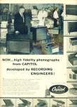 Capital phonographs ad 1957