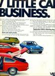 Click to view larger image of Chevrolet Vega automobile ad  - 1970 (Image2)