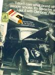 Click here to enlarge image and see more about item Z1917: Old Gold Filters cigarettes 1971 ad