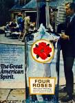 Click here to enlarge image and see more about item Z1929: Four Roses blended whiskey ad 1969