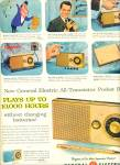 Click here to enlarge image and see more about item Z1943: General Electric all transistor pocket radio