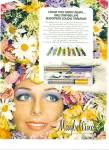 Click here to enlarge image and see more about item Z1995: 1973 Maybelline KELLY HARMON Model AD