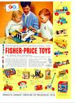 Click here to enlarge image and see more about item Z2071: Fisher Price toys ad 1970