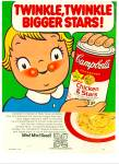 Campbell's Chicken & Stars soup ad 1965