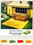 Click here to enlarge image and see more about item Z2094: Sleep or Lounge by Kroehler ad 1964
