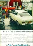Open Kadett by Buick automobile ad