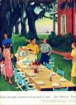 Click here to enlarge image and see more about item Z2175: 1954 U.S. BREWER BEER AD JOHN FALTER ART #92