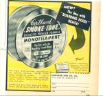 Click here to enlarge image and see more about item Z2236: Cortland smoke tone Fishing LINE AD