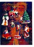 Click here to enlarge image and see more about item Z2275: 1979 Christopher RADKO Glass ORNAMENTS AD Chr