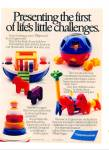 Click here to enlarge image and see more about item Z2304: Tupperware toys for kids ad 1989