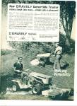 Click here to enlarge image and see more about item Z2356: Gravely Tractor division ad 1967