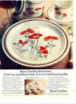 Click here to enlarge image and see more about item Z2381: Royal Doulton stoneware ad 1977