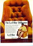 Click here to enlarge image and see more about item Z2405: LA-z-bOY  herculon chairs ad 1977
