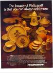 Click to view larger image of Pfaltzgraff Potters VILLAGE Dinnerware AD1979 (Image1)