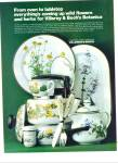 Click here to enlarge image and see more about item Z2426: Villeroy & Boch Botanica ad 1978