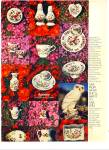Click here to enlarge image and see more about item Z2434: Aynsley english bone china ad 1977
