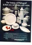 Pfaltzgraff HERITAGE Dinnerware AD 1981