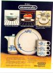 Wedgwood stoneworks by Midwinter ad 1980