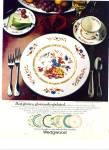 Wedgwood - Galway crystal ad 1980