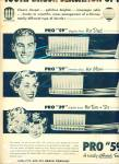 1951 PRO PHY LAC TIC 59 Toothbrush FAMILY AD