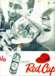 Click here to enlarge image and see more about item Z2784: Carling red cap ale ads 1957