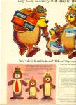 Click here to enlarge image and see more about item Z3672: Kleenex tissues -  3 Bears ad 1967