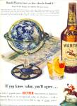 Click here to enlarge image and see more about item Z3722: Hunter fine blended whiskey ad 1950