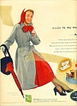 1950 White Sewing AD SIMPLICITY DRESS - COAT