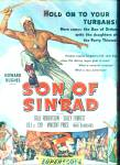 1955 SON of SINBAD MOVIE AD Dale Robertson