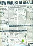Click to view larger image of Rexall drug stores sales ads 1955 (Image2)