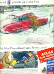 Atlast tires - batteries-anti freeze ad 1952