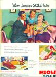 Click here to enlarge image and see more about item Z3796: Neolite soles for shoes ad 1952