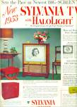Click here to enlarge image and see more about item Z3797: Sylvania Television ad 1952