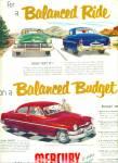 1951 Ford MERCURY Auto PROMO AD