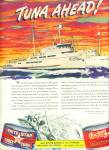 Chicken of the Sea Fancy tuna ad 1945