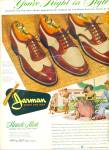 Jarman shoes for men ad WING TIP ART SIP