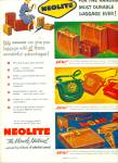 1962 NEOLITE Luggage Purse Miracle Material A
