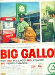 1961 CITIES SERVICE Gas Station AD Vintage Pu