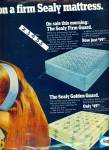 Click to view larger image of Sealy Golden guard mattress ad (Image1)