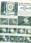 Vacheron & Constantin-le Coultre watches 1967