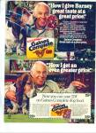 Gaines dog food.  ad 1980