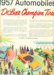 Click to view larger image of Firestone Delux champion tires ad 1957 (Image2)