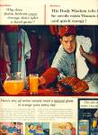 Click here to enlarge image and see more about item Z4077: Orange Juice  from Florida ad 1957