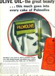 1932 Palmolive SOAP AD Green Olive Oil