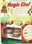 Magic Chef gas ranges ad 1952