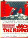 1960 Jack the Ripper movie promo ad