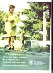 Bell Telephone system ad 1965 BABY AT HOME